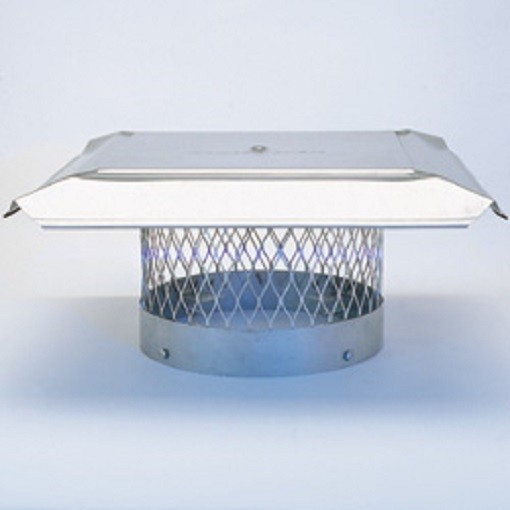 Stainless Steel Chimney Cap For Round Clay Flue Tiles Buckeye Valley Chimney Service