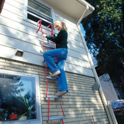Second Story Escape Ladder Buckeye Valley Chimney Service