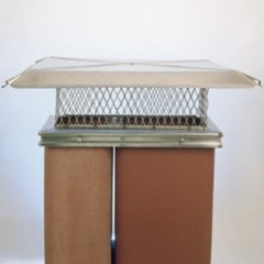 stainless steel long base chimney cap