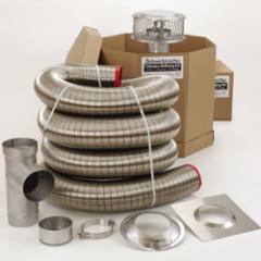 round chimney liner kits