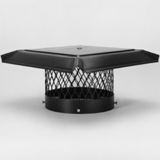 Homesaver Round Galvanized Chimney Cap Buckeye Valley