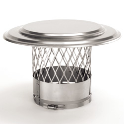Chimney liner components - Collar Plate Cap